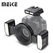 Meike MK-MT24 Macro Twin Lite флэш памяти для цифровых зеркальных фотокамер Nikon Камера D5100 D5200 d5300 D700 D800 D810 D80 D90 D600 D610 D3100 D3200