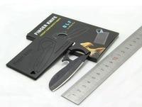 New In 2015 Credit Card Finger Knife Olecranon Eagle Folding Mini Knife Outdoor Pocket Wallet Multi