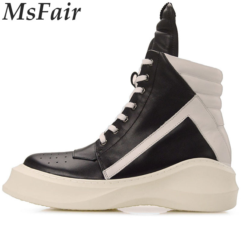 MSFAIR 2018 New Men Skateboarding Shoes Man Brand Sport Shoes For Men Outdoor Athletic Men Sneakers Walking Shoes Ankle Boots цена и фото