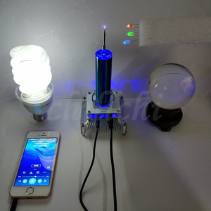 Image 2 - Music Tesla coil ion windmill ion wreath input anti interference protection DIY experiment