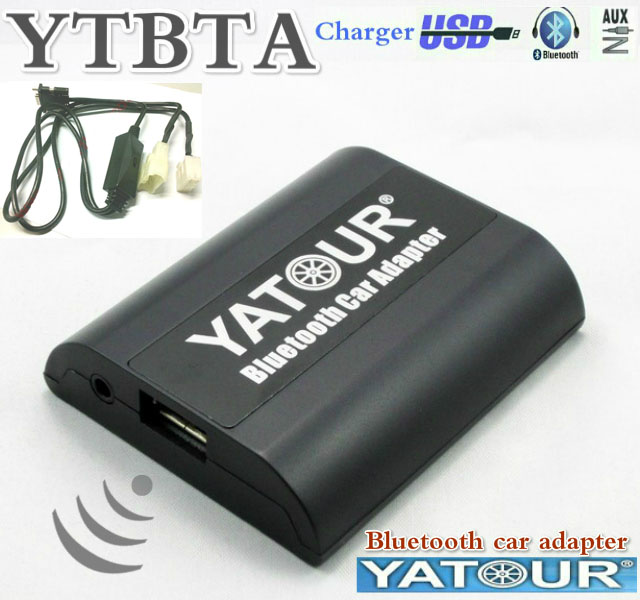 Yatour BTA Bluetooth Hands Free Call A2DP Car kits For Toyota Big 5+7 Lexus Scion HI FI HFP with CD Changer Switch Smart phone