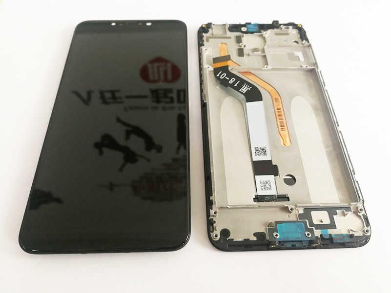 "6.18 ""AAA الأصلي LCD + الإطار ل شاومي Pocophone F1 شاشة عرض LCD ل POCO F1 شاشة LCD عرض 2246*1080 القرار"