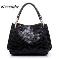 Women Handbag 2014 New Fashion Royal Blue Ruby Red Handbags Women Bags Crocodile Pattern PU Leather