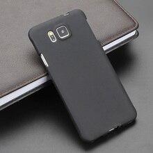 Черный гелевый ТПУ тонкий мягкий силиконовый чехол для телефона Samsung Alpha, задняя крышка для Samsung Galaxy Alpha G850 G850F G8508S