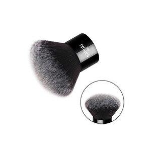 Image 3 - Zoreya marca donna moda nero Kabuki pennello morbido capelli sintetici strumenti per il trucco del viso portatile da prendere e facile da usare
