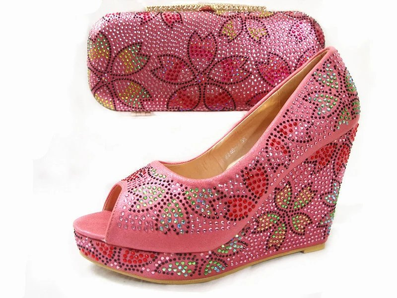2017 big wholesale Italian Shoes with Matching Bags New Arrival Women Shoes and Bag To Match doershow african shoes and bags fashion italian matching shoes and bag set nigerian high heels for wedding dress puw1 19