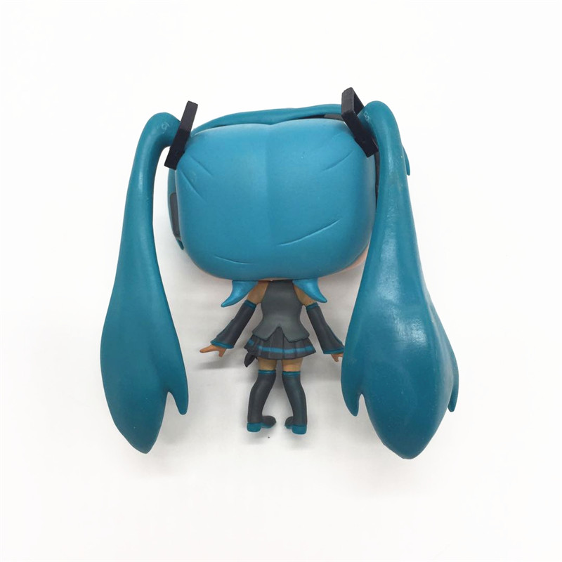 FUNKO POP Japanese Quadratic Hatsune Miku Mirror Sound Action Figure Vinyl Doll Model Star Collection Model Toys for friend in Action Toy Figures from Toys Hobbies