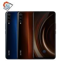 Оригинальный мобильный телефон Vivo iQOO 6,41 AMOLED 6G/8G/12G ram 128G/256G Snapdragon 855 Восьмиядерный Android 9 4000 mAh NFC Смартфон