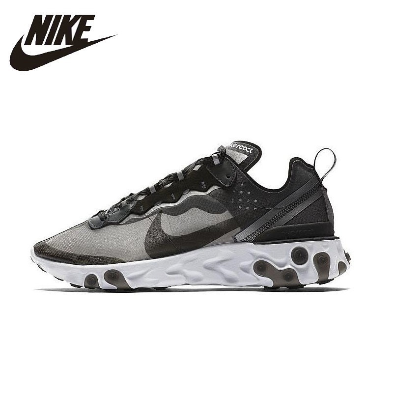dbdb8f84 NIKE React Element 87 Original Mens Running Shoes Mesh Breathable Stability  Support Sports Sneakers For Men