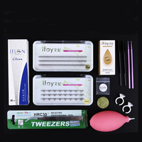 Eyelashes Extension Kit For Starter Grafting Eyelash Set With Glue Fashionable Eyelashes Extension