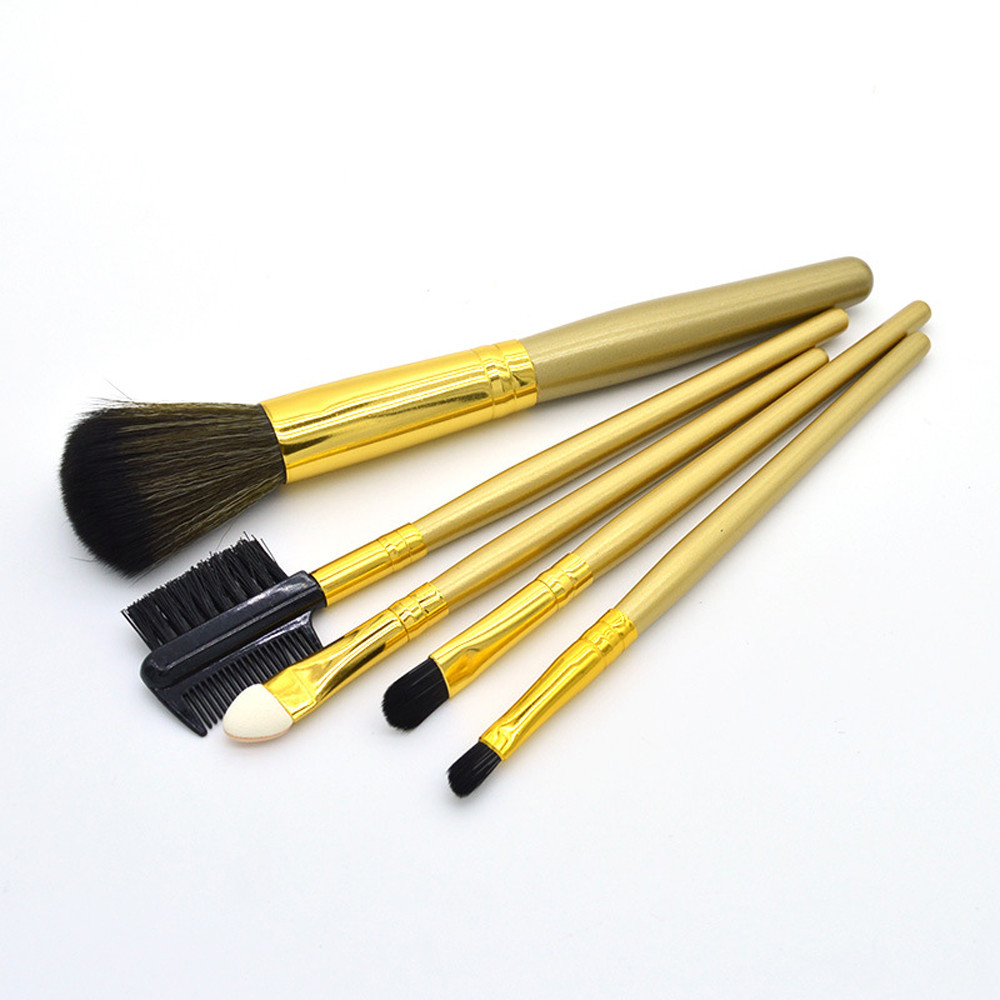 4 Pcs Set High Quality New Women Professional Makeup Brush Tools Travelling  5pcs Soft Nylon Hair 2018 Newest Cosmetic Brushes Blush Lip Brow Eyeshadow Natural Synthetic Beauty