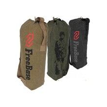Bolsas lienzo Hombro Grande Freebase Soldado Del Ejército Táctico Lienzo Mochila Deporte Al Aire Libre Hombres de Escalada Camping Caza Bolsa de Hombro