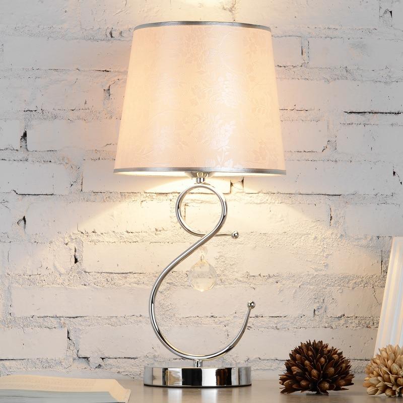 Здесь продается  YOOK 24*50CM European Button Switch Table Lamp Bedroom Modern Dimming Switch Table Lamp Simple Warm Table Lamp 220v 110v 27E  Свет и освещение