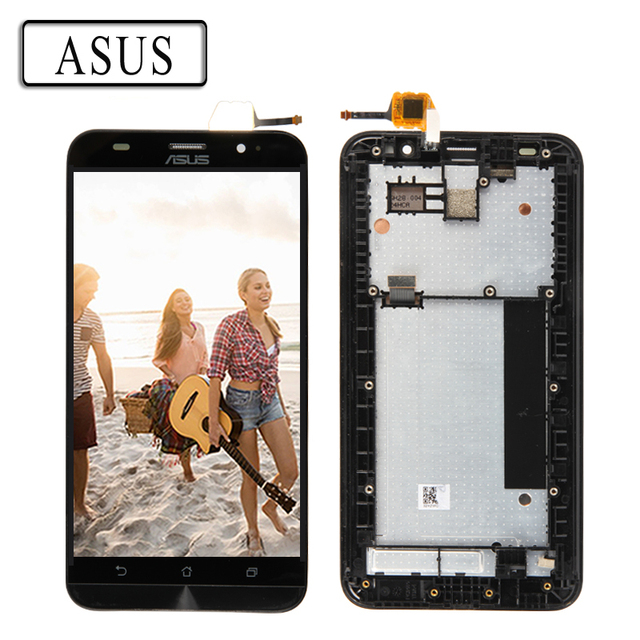 ORIGINAL 5.5'' LCD For ASUS Zenfone 2 ZE551ML Display LCD Touch Screen Digitizer Frame ZE551ML LCD Replacement Z00AD