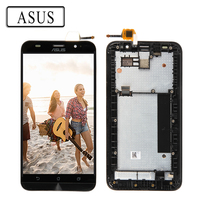 ORIGINAL 5 5 LCD For ASUS Zenfone 2 ZE551ML Display LCD Touch Screen Digitizer Frame ZE551ML