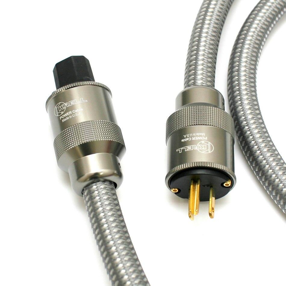 Американский Kile K fever импортные ЕС мощность шнур мощность кабель hifi американский стандартный аудио CD усилители домашние amp США CA JP силовые ка...