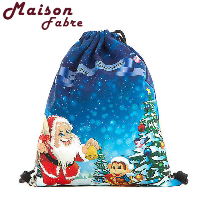 Us2 Gifts Printed Christmas Santa Deal Bundle Claus Ship In Bags Backpack 45Off Pocket Fashion Gift Snowman best Candy Best Drop 24 Bag Aug28 WD2eE9YHI