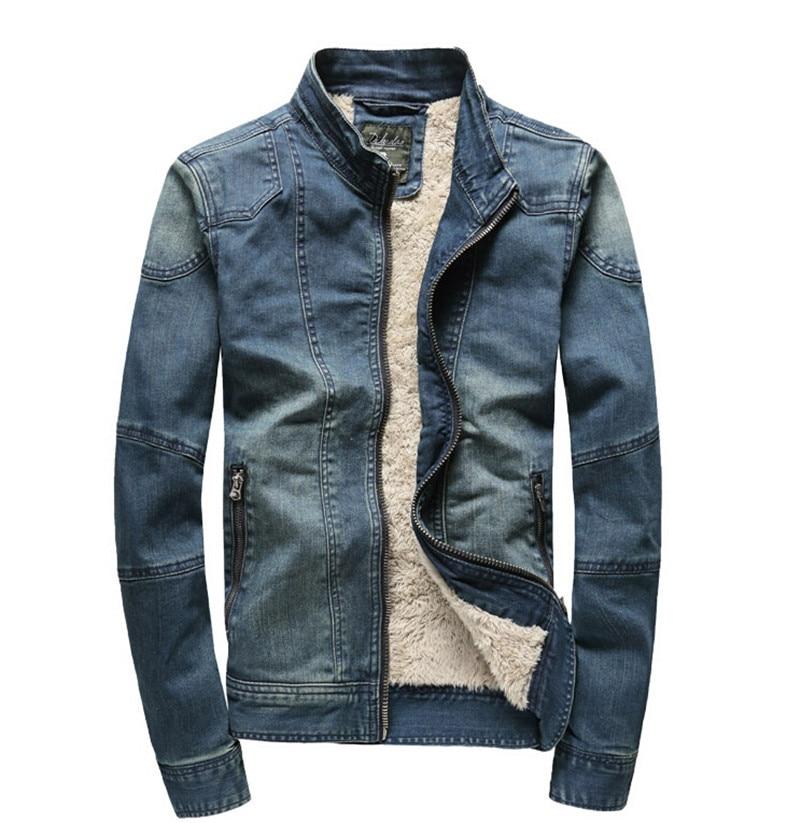 Compare Prices on Mandarin Collar Denim Jacket- Online Shopping