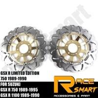 Motorcycle Front Brake Disks Discs Brake Rotors For SUZUKI GSXR 750 1989 1995 LIMITED EDITION 750 1989 1990 GSXR1100 1989