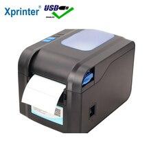 Xprinter этикетка со штрих-кодом Термопринтер для получения принтер штрих-кода 20 мм-80 мм с авто Stipping XP-370B