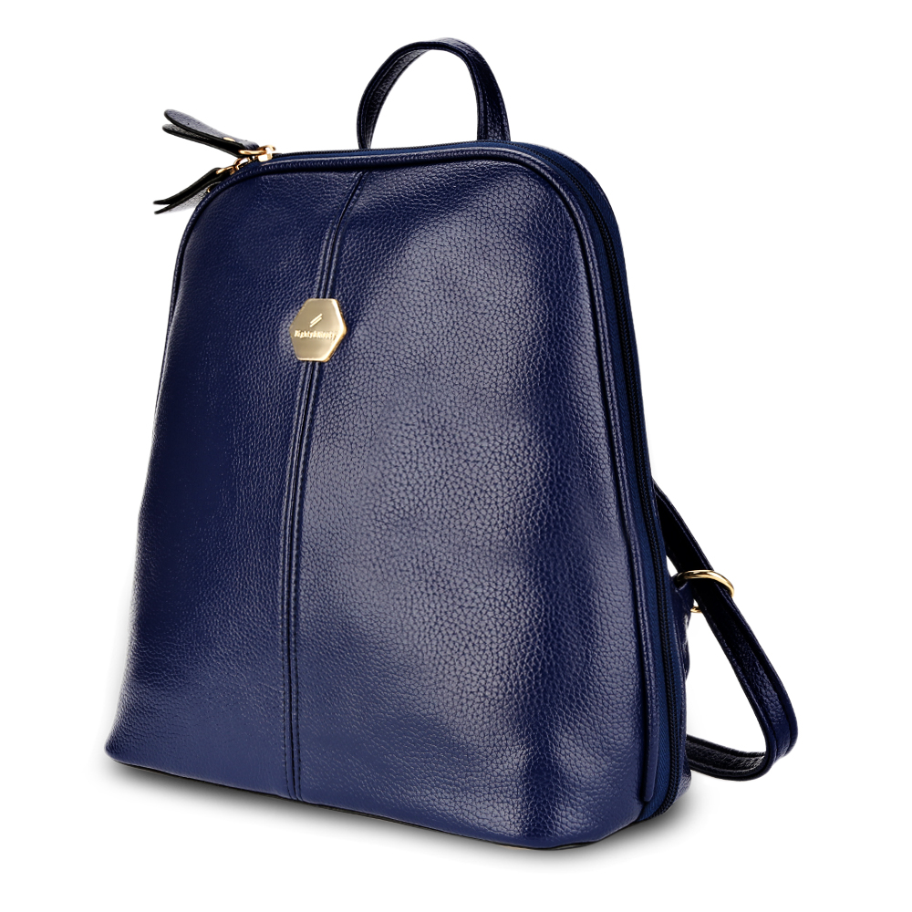 2018 New PU Leather Backpack Women Sweet Beauty Style Shell Travel Bag Polyester Female Solid Casual Soft Vintage Zipper Pocket