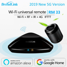 2019 Date Broadlink RM Pro + RM33 RM mini3 Smart Domotique WIFI + IR + RF + 4G contrôleur universel pour iOS Android(China)
