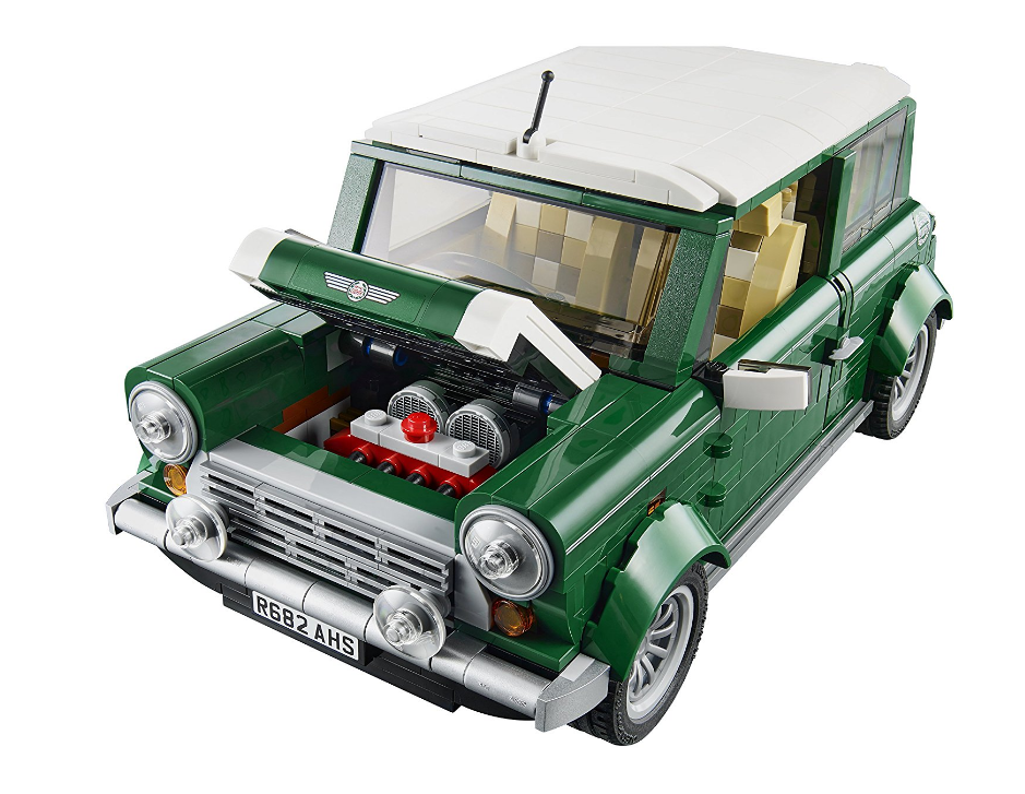 Yile Creator Expert Mini Cooper car-styling model Building Kit Blocks Bricks Compatible 10242 Lepin 21002 Toys for children gift lepin 22001 pirate ship imperial warships model building block briks toys gift 1717pcs compatible legoed 10210