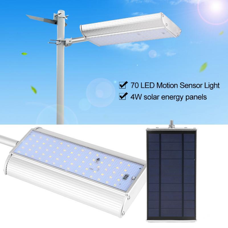luz solar led para exterior Solar Light 70 LED Motion Sensor Garden Solar Lamp Light Outdoor