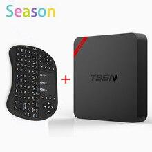 T95N – Mini MX + Plus Android 6.0 TV BOX Amlogic S905X quad-core 1G/8G KODI 16.0 Smart TVMedia Player