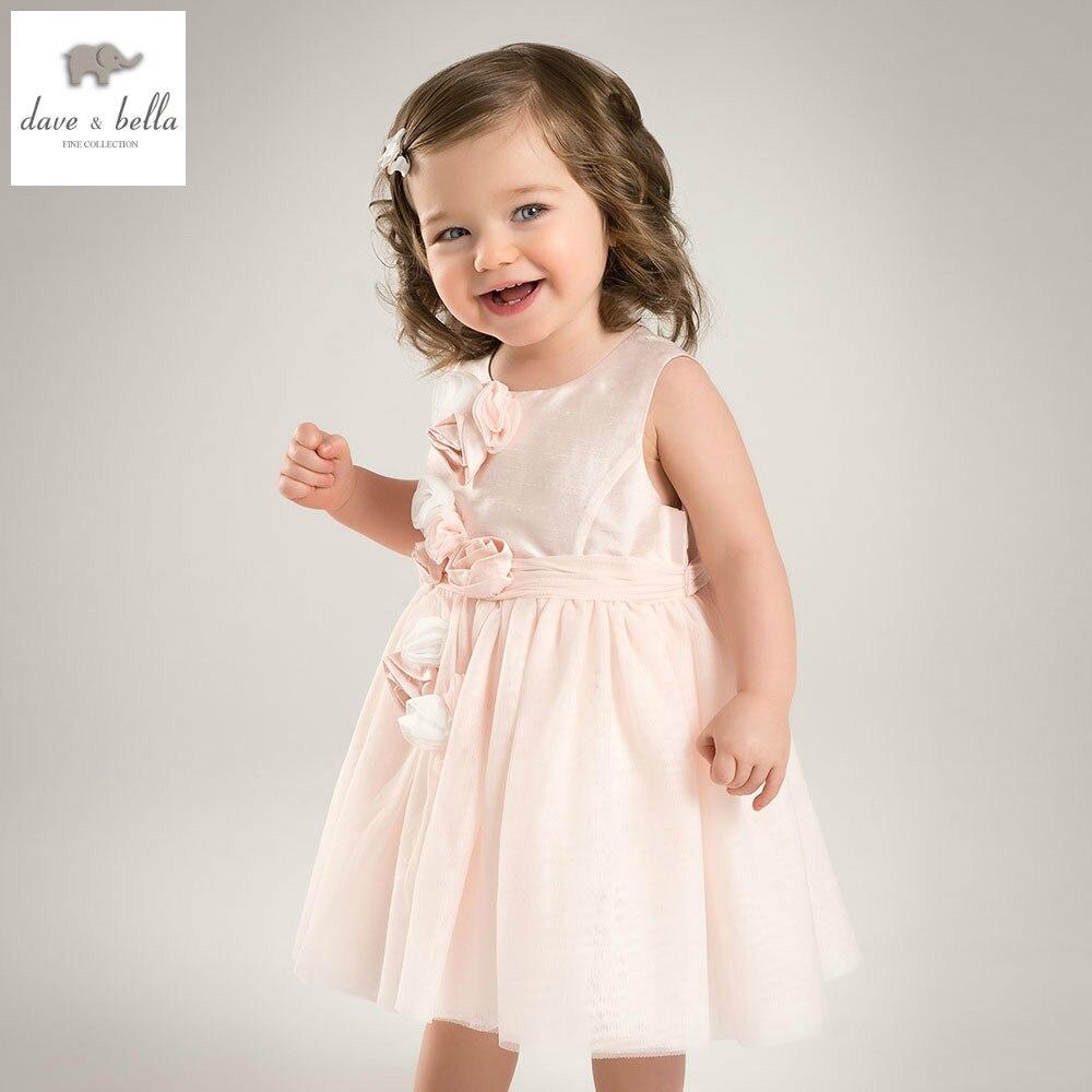 DB5235 Dave bella verano niñas princesa vestido niño flores del ...