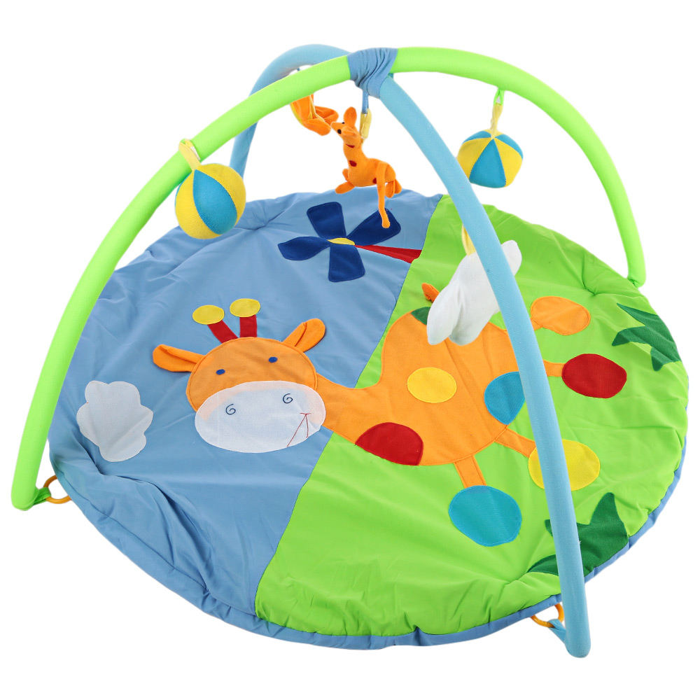 Baby Soft Play Mat Gym Blanket With Frame Mat Cartoon