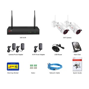 Image 5 - ANRAN 4CH WIFI Drahtlose Kamera IP Security Kamera Kit 1080P HD 2PCS CCTV Kamera System Im Freien Wasserdichte Hause sicherheit System