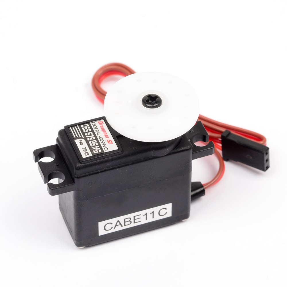 Graupner DES 678 BBMG High Torque Coreless 16mm Digital Servo Mini Micro Servo RC plane Helicopter Boat Car+Free shipping 35kg high torque coreless motor servo rds3135 180 deg metal gear digital servo arduino servo for robotic diy rc car