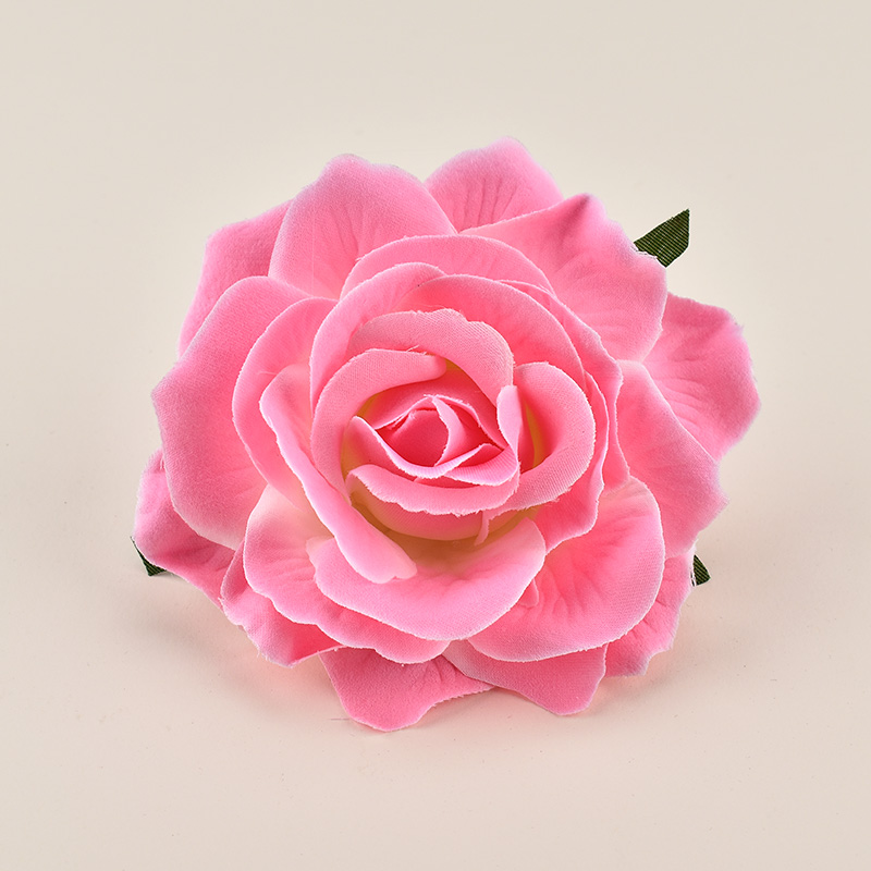 500pcs Artificial Burgandy Rose Silk Flower Heads For Wedding Decoration DIY Wreath Gift Box Scrapbooking Craft Fake Flowers