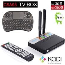 Dmyco csa93 3 ГБ 32 ГБ android 6.0 smart tv box amlogic s912 octa ядро Потокового Smart Media Player Wi-Fi BT4.0 set top box mini pc
