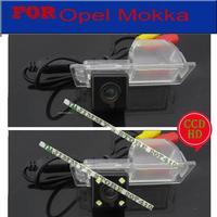 Car Electronics CCD SONY Opel Camera Car Rear View Camera With 4 LED HD CCD Camera
