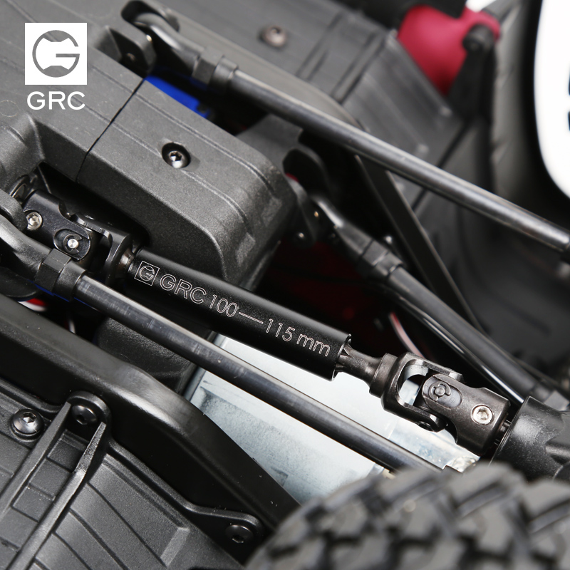 Les pièces de mise à niveau de voiture Rc renforcent l'arbre d'entraînement résistant de Joint universel en acier allié CVD pour 1/10 TRAXXAS Trx-4 TRX4
