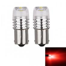 FYSZ BA15S Car LED 1156 P21W 3W  Red Light COB Stoplight Automobile Brake Turn Signal Taillight (2 PCS / DC12V)