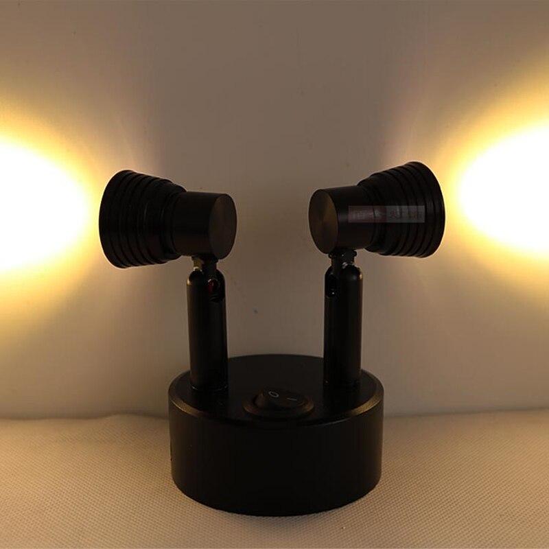 Led-beleuchtung Licht & Beleuchtung Lade Stil Led-strahler Ladeanzeige Zähleranzeige Lampe Schmuck Zähler Schlafzimmer Studie Licht Kreative Schwarz Sd70 Lu1017