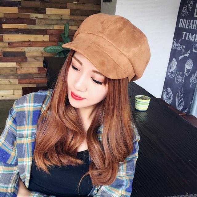 Beret Femmes Beret Chapeau 2018 New Hot Mode Femme Vintage Classique