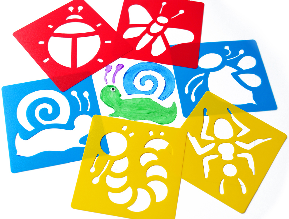Popular kids stencil sets buy cheap lots