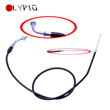 FLYPIG Universal Motorcycle Accessories Throttle Cable 50 70 90 110 125cc ATV Dirt Pit Bike for Honda XR50 CRF50 curve throttle cable for honda xr50 crf50 xr crf 50 70 bike