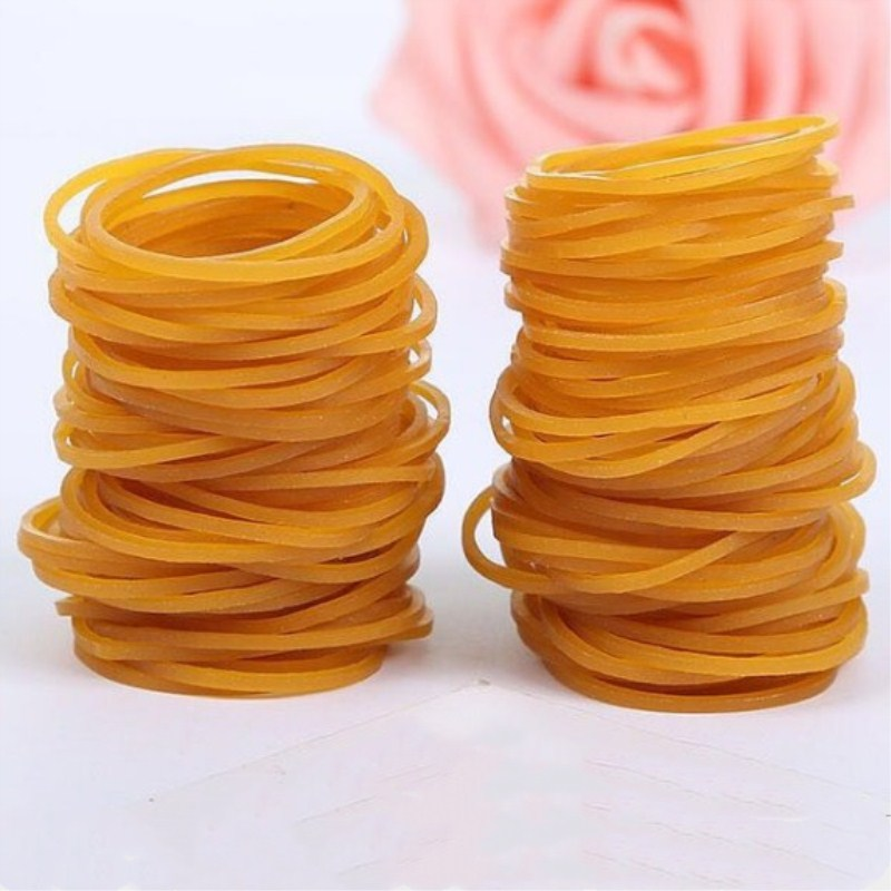 38mm Elastic Rubber Bands Bank Paper Bills Money Stretchable Band Sturdy Stretchable Rubber Elastics Bands For Home Office