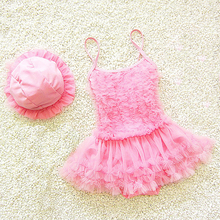 Dollplus Toddler Girl Swimwear Summer Beach Swim Wear Fashion Lace Cute Kids Swimsuit for Girls Swimming One Pieces Clothes