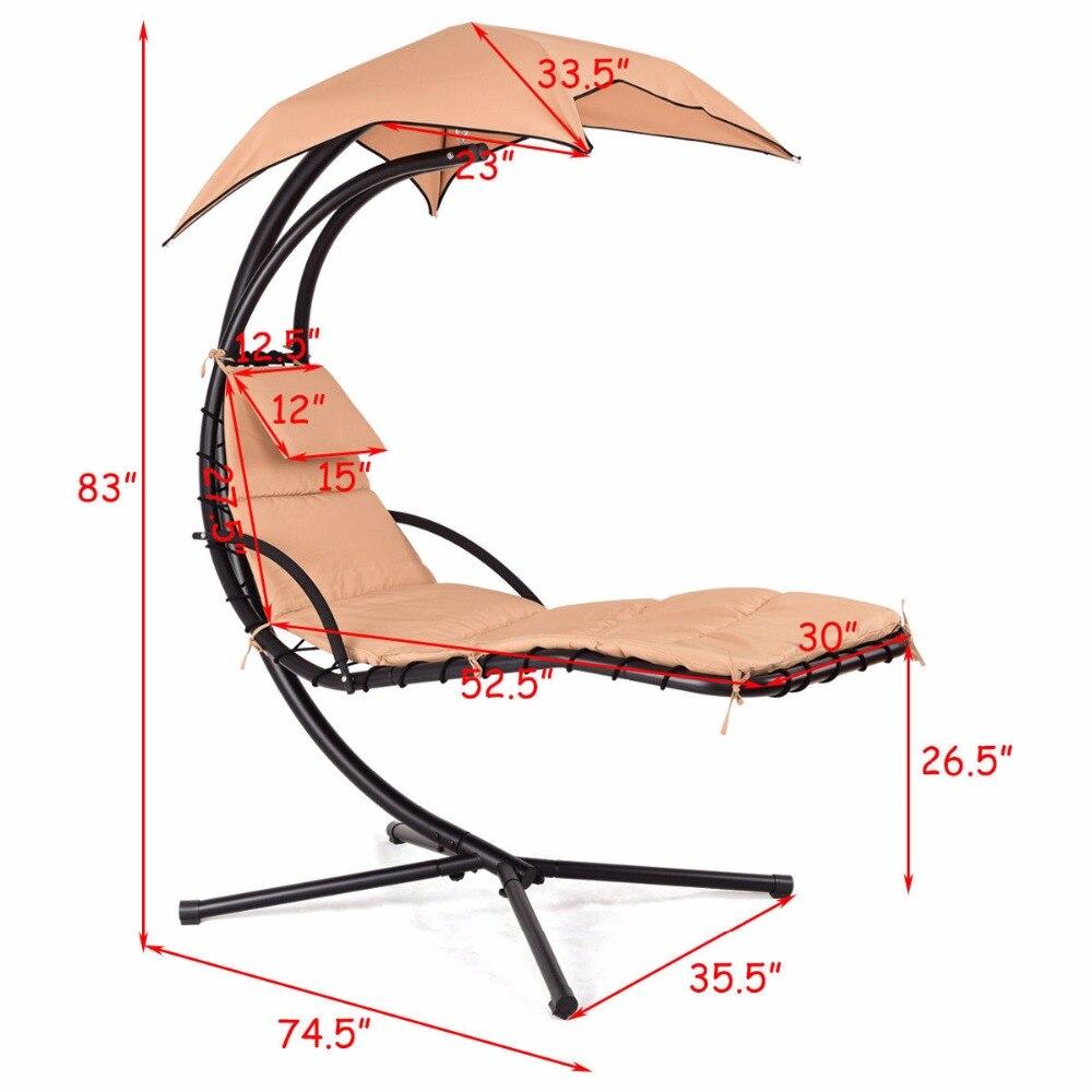 Produkt Beschreibung: Diese Moderne Hängen Chaise Lounge Stuhl Ist Die  Meisten Perfekte Werkzeug Für Sie Zu Rest Und Entspannen Sie In Ihrem  Garten, ...