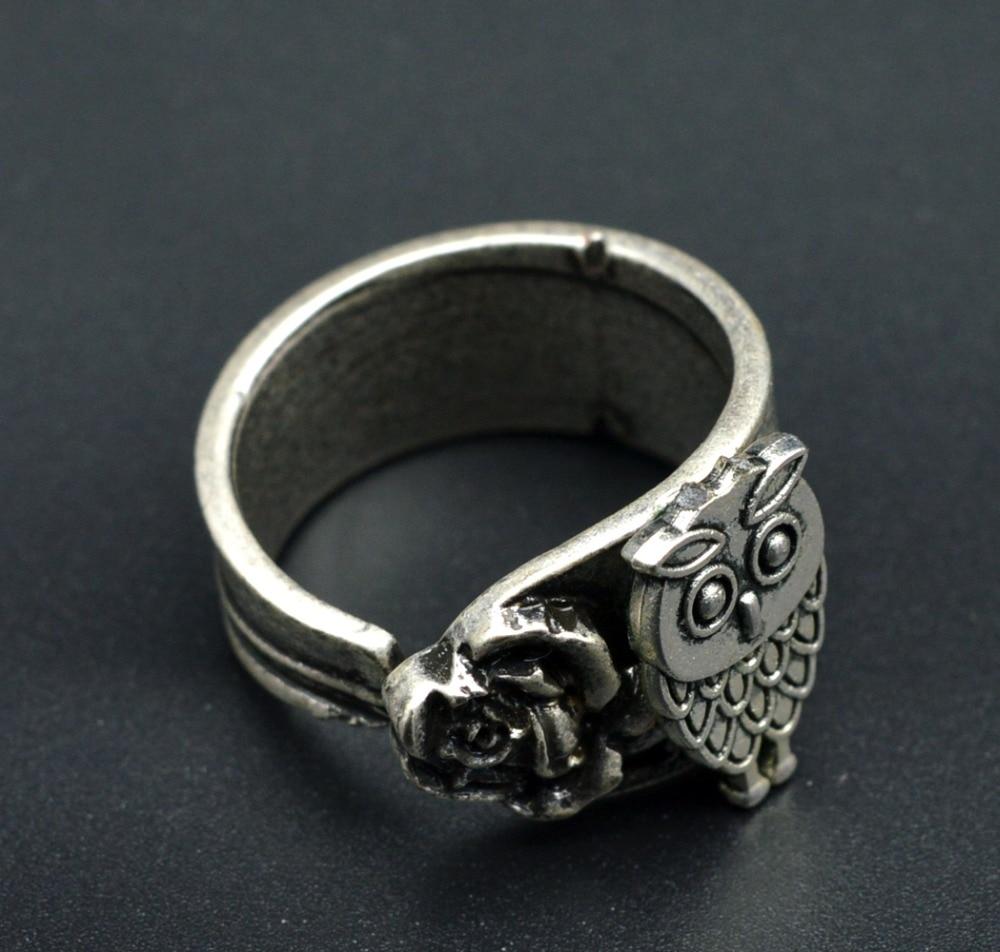 get cheap silver spoon rings aliexpress