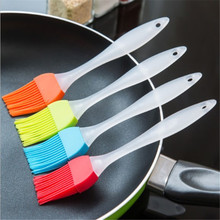 TTLIFE 5 Colors Silicone Bakeware Tools Bread Cook Brushes Pastry Oil BBQ Basting Brush Tool Newest Kitchen Accessories Gadget