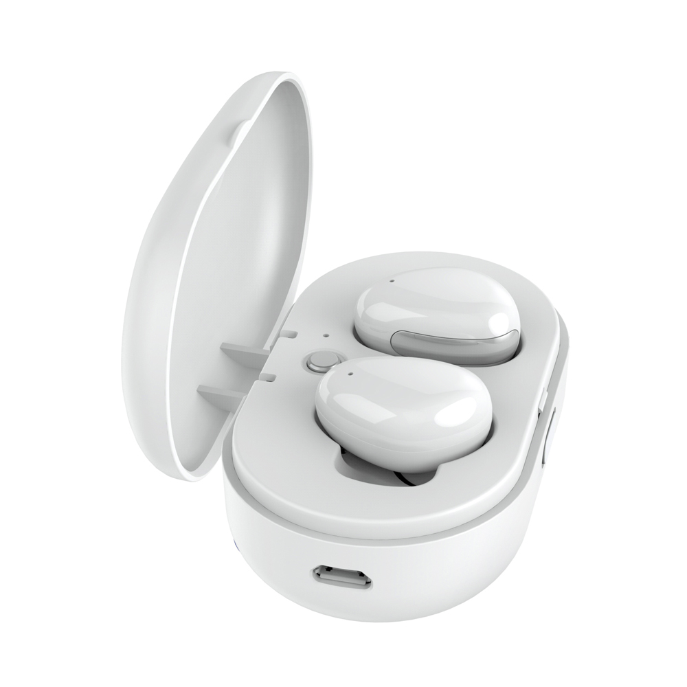 Wireless Earbuds i8s Bluetooth Earphone with Charger Box for Iphone and Andriods White letike wp 304 bluetooth earbuds