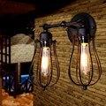 Ретро Креативный светодиодный настенный светильник Промышленный винтажный настенный светильник Настенный светильник домашний Декор ламп...