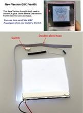 New Version Frontlit Frontlight Front Light Kit For GameBoy Color For GBC